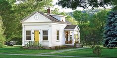 Neglected Schoolhouse Becomes Chic Cottage - Schoolhouse Renovation