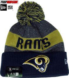 Los Angeles Rams New Era NFL Sideline Sport Knit Bobble Hat