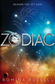 Title details for Zodiac by Romina Russell - Available Sci Fi Series, Fantasy Series, Book Series, Book 1, Moon Zodiac, Books To Read, My Books, Young Adult Fiction, Beautiful Book Covers