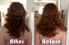 """My hair experiment diary using the """"Curly Girl"""" method. #curly #hair"""