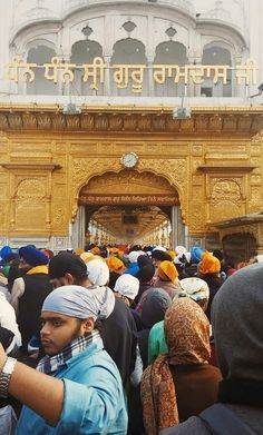 annoio:  Golden Temple, Amritsar Harmandir Sahib, Golden Temple Amritsar, 16th Century, Opera House, Religion, Culture, God, Inspiration, Dios