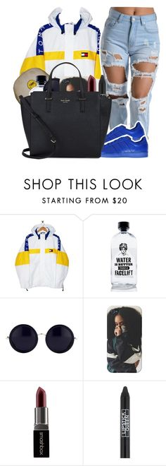 """""""Chopped & Screwed   T Pain ft. Ludacris"""" by wandelareoceane ❤ liked on Polyvore featuring moda, Tommy Hilfiger, adidas Originals, Aquaovo, The Row, Smashbox, Lipstick Queen i Kate Spade"""