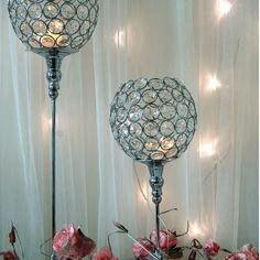Crystal Wedding Table Centre Pieces