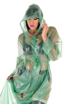 KEMO Cyberfashion Onlineshop für Mode und Regenkleidung aus PVC - PVC Regenmantel Imperméable