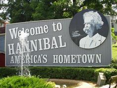 """The little town sitting on the banks of the """"Sissippi River."""