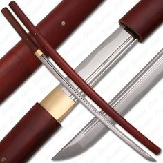 Bushido Musashi - Rosewood Shirasaya Sword Full Tang