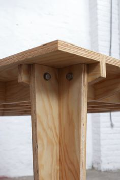 Boarded Floor Table by Steven Schreurs and Thomas Roelandts | MOCO LOCO