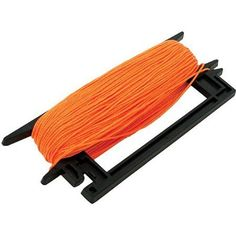 Marshalltown 921 250' Orange Braided Nylon Line Winder, Multicolor