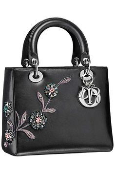 OOOK - Dior - Bags 2014 Fall-Winter - LOOK 8 | Lookovore  ///  /Love this handbag.  Elegant and charming.
