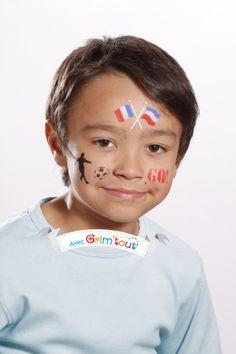 Un maquillage pour les supporters de l\u0027équipe de France !