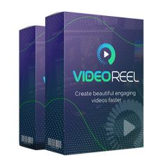 VideoReel Software - Software And Tool Download Social Media Video, Social Media Ad, Marketing Channel, Marketing Videos, Marketing Tools, Affiliate Marketing, Make Money Online, How To Make Money, List Of Tools