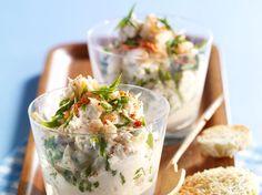 Découvrez la recette Rillettes de crabe sur cuisineactuelle.fr.