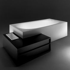 Amazing Modern Minimalist Bathrooms By Michael Schmidt : Amazing Modern  Minimalist Bathrooms By Michael Schmidt With White And Black Unique Bathtub  Design