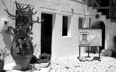 Santorini, Greece Photo B, Santorini Greece, Oversized Mirror, Islands, Greek, Black And White, Cool Stuff, Holiday, Home Decor
