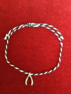 Wishbone bracelet  by aslii on Etsy, $10.00