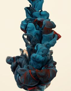 Alberto Seveso, high-speed photographs of ink mixing with water.