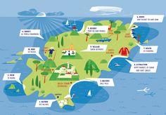 map of Ibiza | Ibiza - Ibiza holidays - Ibiza tourism - Ibiza Old Town - Undiscovered ...