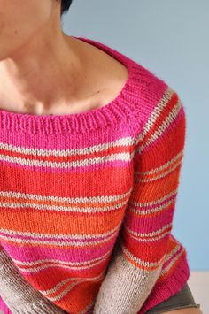 Ravelry: Spring Lines pattern by La Maison Rililie {a great simple sweater}