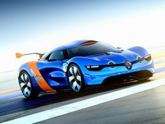 Renault Alpine A110-50 Concept (2012) – A lightweight functional designed sportscar without any retro kitsch. I think it would be a winner!