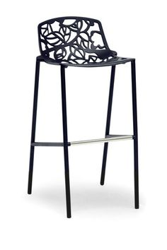 Demeter Metal Modern Bar Stool