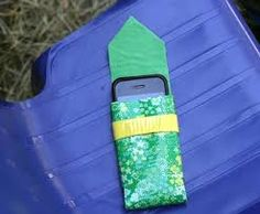 Duck tape pocket for your phone