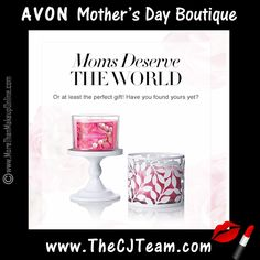 Avon Mother's Day Boutique is your Go-To Gifting Destination for all of your Mother's Day needs! #Avon #MothersDay #GiftSet #Gift #Mom #Spring #c11 #CJTeam #Sale #Avon4Me #WhileSuppliesLast FREE shipping with any $40 online Avon purchase. Shop Avon online @ www.TheCJTeam.com