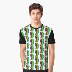'TC Tuggers' Graphic T-Shirt by richwear Only Shirt, T Shirt, Sell Your Art, Vivid Colors, Female Models, Tank Man, Shirt Designs, Printed, Awesome