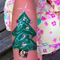 Christmas Body Painting :)