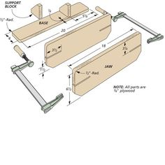 Easy-to-Build Vise