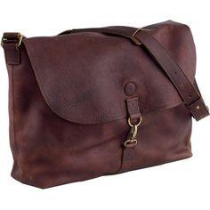 Women's Lifetime Leather Messenger Bag