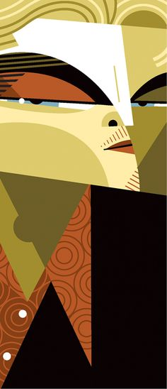 """Leonardo DiCaprio"" by Pablo Lobato. [Graphic Design Illustration]"