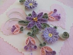 Quilled Mother's Day Craft Projects and Ideas.