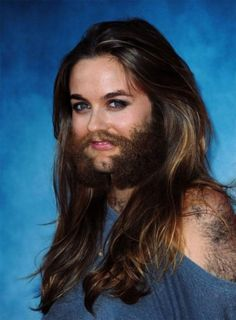30 Female Celebrities with Beard and Body Hair!
