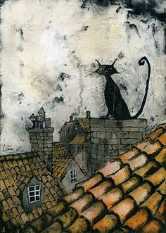 MadWickedAwesome — chimney cat (via Pinterest: Discover and save...