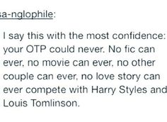 """It's true though. I have a couple of ships and Larry is the """"youngest"""" of then. But they are the one"""