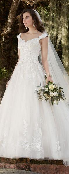 2016 New Hot Wedding Dress Sexy Shoulder Applique Chiffon Back Zipper Card Mopping Beautiful Wedding Pro Customized Online with $171.52/Piece on Hu8384's Store | DHgate.com