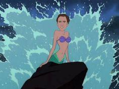 Nicolas Cage as Disney Princess