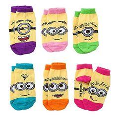 Minions Toddler Socks 2t-4t for Girls Despicable Me Minions https://www.amazon.com/dp/B00UCVWISE/ref=cm_sw_r_pi_dp_x_fB94yb4MG80B6