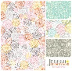 Early Morning Patterns by Jenean Morrison