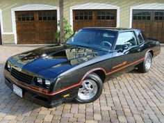 1986 Chevy Monte Carlo SS  For some dumb reason, I've always wanted one