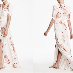 goop by timo white floral maxi dress