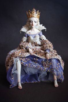 Agnetha art doll from Enchanted Doll