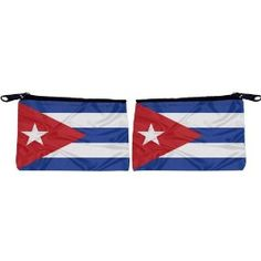 Rikki Knight Cuba Flag Scuba Foam Coin Purse Wallet - unisex - Affordable gift for all occassions