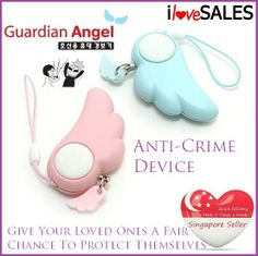 9bdf76f989fe Qoo10 - Anti-Crime Device protect yourself. Guardian Angel. Alarm sounds  when .