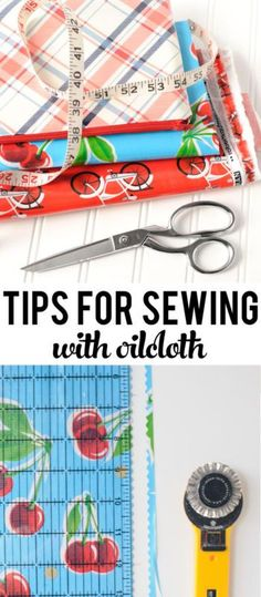 Tips for Sewing with Oilcloth | eBay