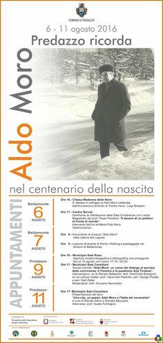 Predazzo ricorda Aldo Moro nel centenario della nascita