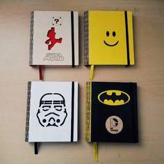 Logo Collection on Behance Handmade Notebook, Diy Notebook, Decorate Notebook, Handmade Books, Graphic Design Branding, Wood Design, Disney Art, Bullet Journal, Pop Art