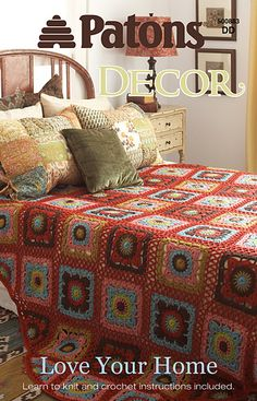 Ravelry: Patons #500883, Love Your Home - patterns