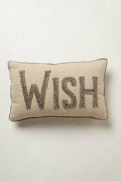 Anthro Wish Pillows
