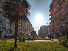 I miss sunny days. City Photography, Mobile Photography, Greece Thessaloniki, Sunny Days, Sidewalk, Street View, Photos, Beautiful, Pictures